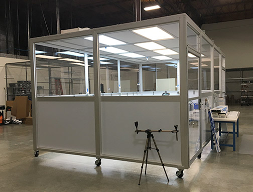SIS Portable Softwall Cleanrooms